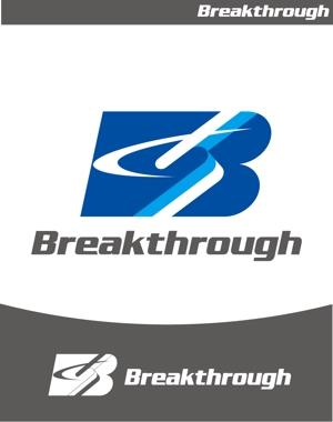 kuma-booさんの運送会社Breakthroughの会社ロゴ作成のお願いへの提案