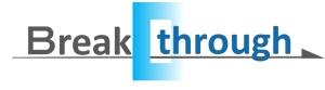 mirrorcomさんの運送会社Breakthroughの会社ロゴ作成のお願いへの提案