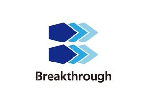 tora_09さんの運送会社Breakthroughの会社ロゴ作成のお願いへの提案