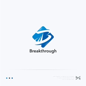 Impactさんの運送会社Breakthroughの会社ロゴ作成のお願いへの提案