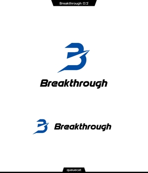 queuecatさんの運送会社Breakthroughの会社ロゴ作成のお願いへの提案