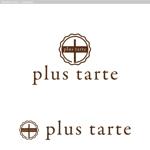 タルト専門店『plus tarte』のロゴへの提案