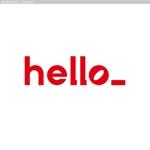 会社名「hello」のロゴへの提案