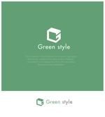 yamamoto19761029さんのテレワークオフィス 「Green style」のロゴ制作への提案