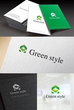 hi06さんのテレワークオフィス 「Green style」のロゴ制作への提案