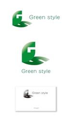 serve2000さんのテレワークオフィス 「Green style」のロゴ制作への提案