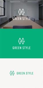 tanaka10さんのテレワークオフィス 「Green style」のロゴ制作への提案