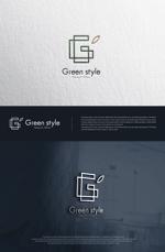 blue-3さんのテレワークオフィス 「Green style」のロゴ制作への提案
