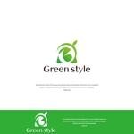 VEROさんのテレワークオフィス 「Green style」のロゴ制作への提案