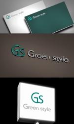 1as_designさんのテレワークオフィス 「Green style」のロゴ制作への提案