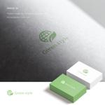 doremidesignさんのテレワークオフィス 「Green style」のロゴ制作への提案