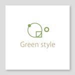 samasaさんのテレワークオフィス 「Green style」のロゴ制作への提案