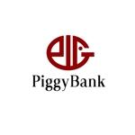 法人名「PiggyBank」のロゴへの提案
