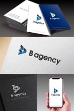 hi06さんの金属加工会社「B agency」のシンボルマーク・ロゴタイプのデザイン依頼への提案