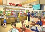 freehandさんの新業態「MIXERBAR」店内イメージイラスト作成依頼への提案