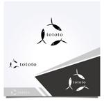 WD-Officeさんの魚醤専門ブランド【 TOTOTO】  のロゴへの提案