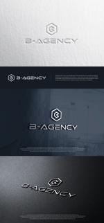 blue-3さんの金属加工会社「B agency」のシンボルマーク・ロゴタイプのデザイン依頼への提案