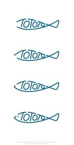 mahou-photさんの魚醤専門ブランド【 TOTOTO】  のロゴへの提案