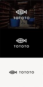 tanaka10さんの魚醤専門ブランド【 TOTOTO】  のロゴへの提案