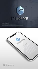 skliberoさんの金属加工会社「B agency」のシンボルマーク・ロゴタイプのデザイン依頼への提案