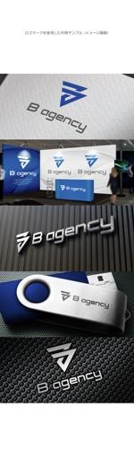 kinryuzanさんの金属加工会社「B agency」のシンボルマーク・ロゴタイプのデザイン依頼への提案