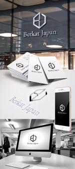 katsu31さんのBerkat Japan株式会社のロゴデザインへの提案