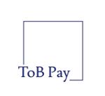 AkihikoMiyamotoさんの新サービス「ToB Pay」のロゴ制作への提案