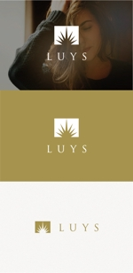 tanaka10さんのヘアサロン 「LUYS」のロゴへの提案