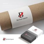 doremidesignさんのBerkat Japan株式会社のロゴデザインへの提案