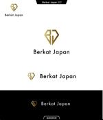 queuecatさんのBerkat Japan株式会社のロゴデザインへの提案