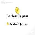 tattsu0812さんのBerkat Japan株式会社のロゴデザインへの提案