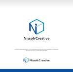 kmizumotoさんの通販とリアル店舗のロゴ「日創クリエイティブ」への提案