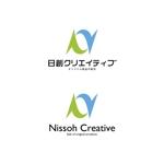 free_0703さんの通販とリアル店舗のロゴ「日創クリエイティブ」への提案