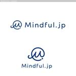 マインドフルネスのウェブサイト「Mindful.jp」のロゴへの提案