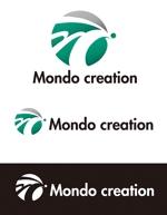 dd51さんのSE人材派遣会社【Mondo creation】のロゴへの提案