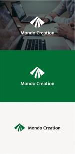 tanaka10さんのSE人材派遣会社【Mondo creation】のロゴへの提案