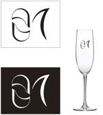 シャンパン「ZERO UN」のロゴデザインへの提案