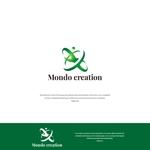 VEROさんのSE人材派遣会社【Mondo creation】のロゴへの提案