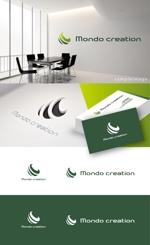 smoke-smokeさんのSE人材派遣会社【Mondo creation】のロゴへの提案