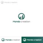 Puchi2さんのSE人材派遣会社【Mondo creation】のロゴへの提案