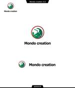 queuecatさんのSE人材派遣会社【Mondo creation】のロゴへの提案