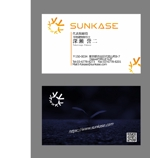 資産運用コンサル会社「SUNKASE株式会社」の名刺デザインへの提案