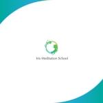 red3841さんのスピリチュアル教養スクール「Iris MeditationSchool」のロゴへの提案
