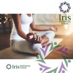 smdsさんのスピリチュアル教養スクール「Iris MeditationSchool」のロゴへの提案