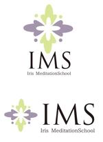 dd51さんのスピリチュアル教養スクール「Iris MeditationSchool」のロゴへの提案