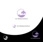 Suisuiさんのスピリチュアル教養スクール「Iris MeditationSchool」のロゴへの提案