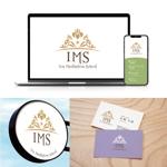 momoshiさんのスピリチュアル教養スクール「Iris MeditationSchool」のロゴへの提案
