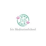 atariさんのスピリチュアル教養スクール「Iris MeditationSchool」のロゴへの提案