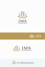 eldorado_007さんのスピリチュアル教養スクール「Iris MeditationSchool」のロゴへの提案