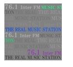 Kanakoaraさんの「76.1 THE REAL MUSIC STATION InterFM」のロゴ作成への提案